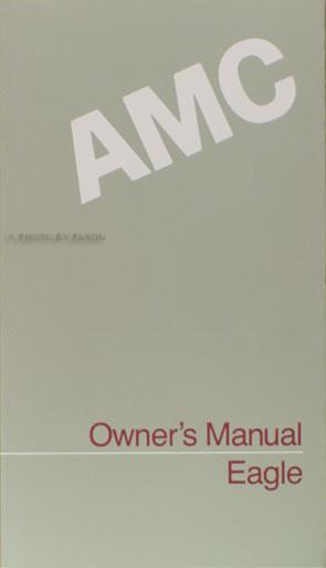 1988 amc eagle owner u0026 39 s manual original