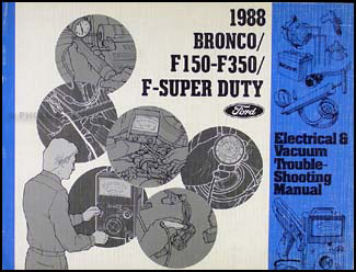 1988BroncoF SeriesEVTM 1988 ford bronco, f150 f250 f350, super duty foldout wiring diagram 1988 ford f350 wiring diagrams at crackthecode.co