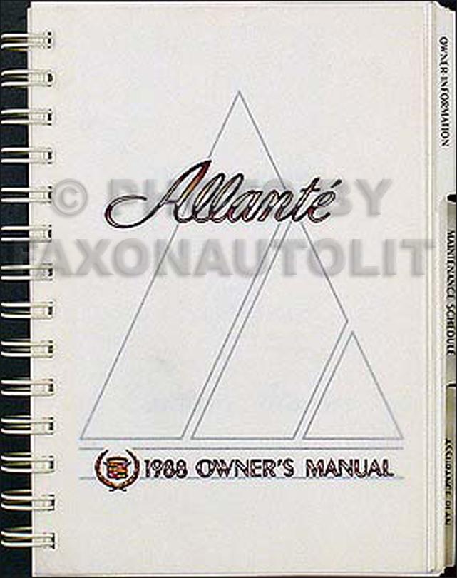 1987-1988 cadillac allante repair shop manual original 1988 thunderbird transmission wiring diagram