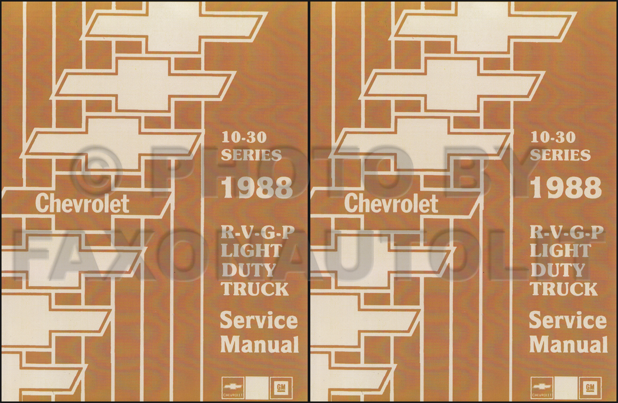 1988ChevyTruckRRMSet 1988 chevy gmc r v wiring diagram suburban, blazer, jimmy, r v pickup 1988 gmc suburban wiring diagram at fashall.co