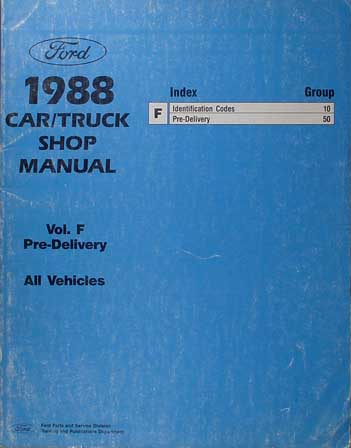 1988 ford truck cab foldout wiring diagram original f600 f700 related items