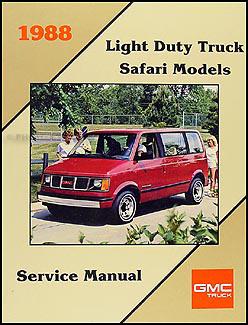 1988    GMC    12  34    1 ton Truck Overhaul Manual Original