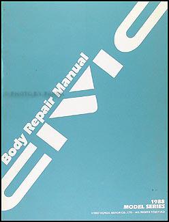 1988 1991 honda civic body repair shop manual original rh faxonautoliterature com Car Honda Civic Manual 1992 honda civic repair manual