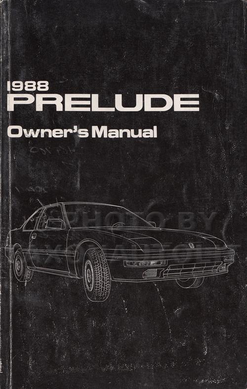 1988 honda prelude repair shop manual rh faxonautoliterature com 2000 Honda Prelude 2000 Honda Prelude