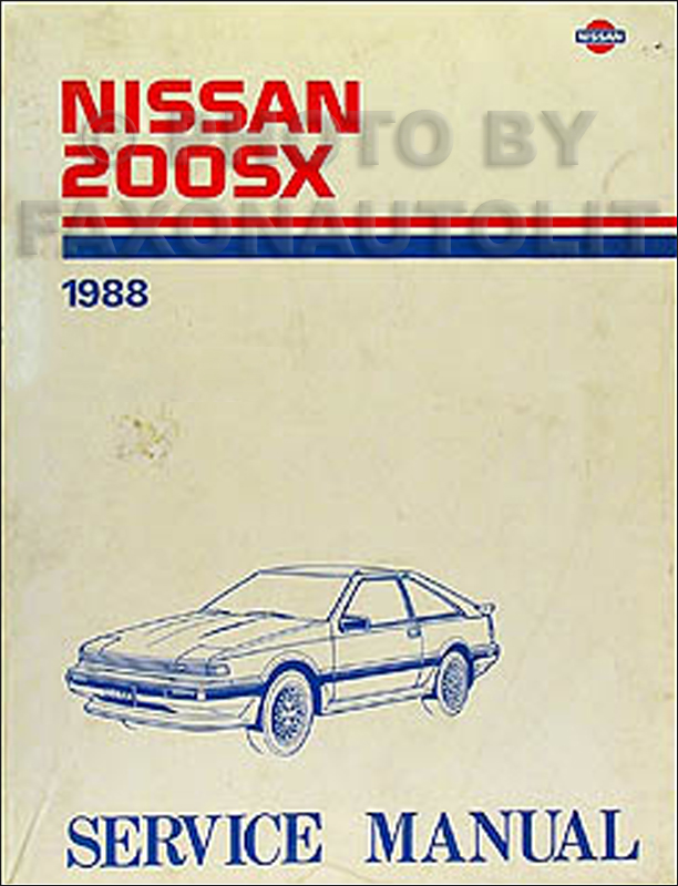 wiring diagram for 1988 nissan wiring diagram and schematic 1988 nissan van wiring diagram manual original
