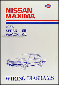 1988 nissan maxima wiring diagram manual original. Black Bedroom Furniture Sets. Home Design Ideas