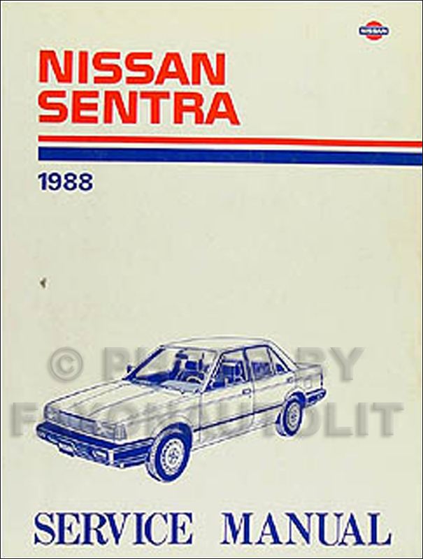 1988 nissan sentra wiring diagram manual original 2009 Nissan Sentra Wiring Diagram 88 nissan sentra wiring diagram