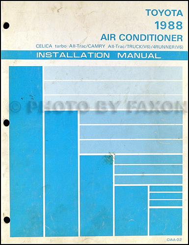1988 toyota pickup wiring diagram air conditioning 92 camry distributor wiring diagram 92 free engine image 1982 chevy c10 wiring diagram air conditioning
