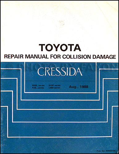 1989 toyota cressida wiring diagram manual original related items