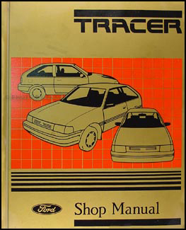 1988 1989 mercury tracer repair shop manual original rh faxonautoliterature com Mercury Capri Isuzu Impulse
