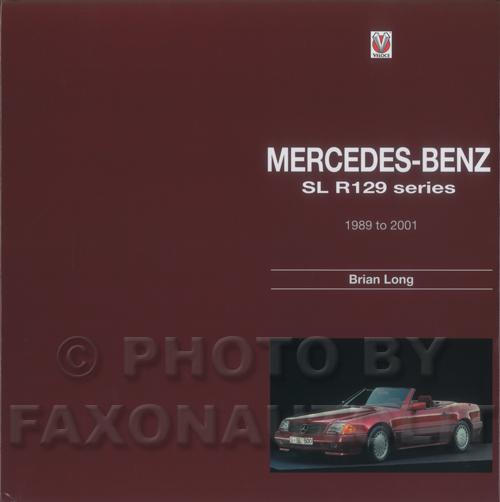 1990 2001 mercedes benz sl r129 history book sl600 sl500 for Mercedes benz company history