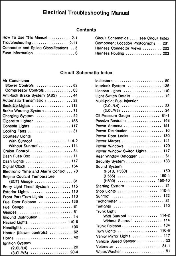 19891991 Hyundai Sonata Electrical Troubleshooting Manual Original: 2007 Hyundai Sonata Wiring Diagram At Imakadima.org