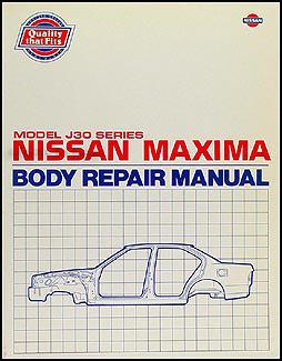 1989-1994 Nissan Maxima Body Repair Manual Original
