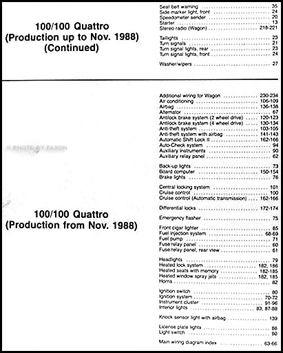 1989Audi100 200OWD TOC2 1989 audi 100 and 200 original wiring diagram 2000 audi tt wiring diagram at fashall.co