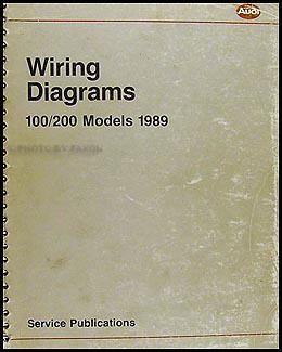 1989 audi 100 and 200 original wiring diagram rh faxonautoliterature com audi 100 wiring diagram download audi 100 2.5 tdi wiring diagrams
