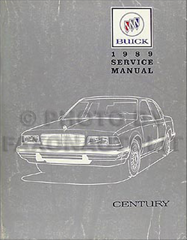 1999 Buick Century Repair Guide Years