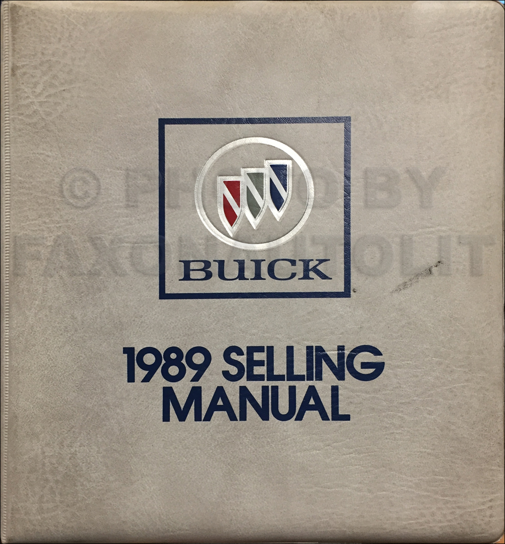 1989 Buick Riviera  U0026 Reatta Repair Shop Manual Original