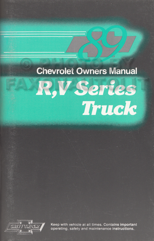Chevrolet Celebrity Service Repair Manual - Chevrolet ...