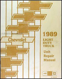 1989    Chevy    Truck Repair Shop Manual Original Pickup Blazer