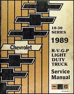 1989 chevy suburban k5 blazer r v pickup wiring diagram original 1989 chevy truck repair shop manual original pickup blazer suburban van fc 109 00