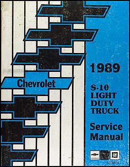 1989 chevy s 10 pickup blazer wiring diagram manual original 1989 chevrolet s 10 pickup blazer repair shop manual original