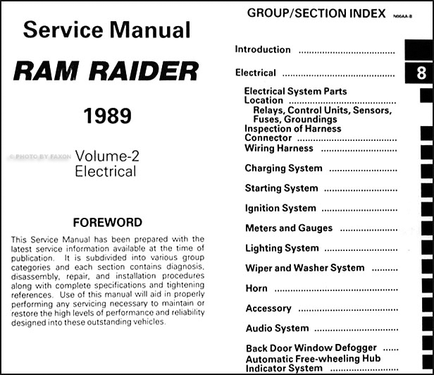 1989 Dodge Raider Wiring Diagram - Wiring Diagrams Schematics on 1992 chevy silverado wiring diagram, 1992 chevy s10 blazer wiring diagram, 1992 dodge stealth wiring diagram, 1992 dodge dakota wiring diagram,