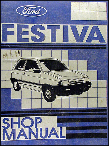 1989 ford festiva factory foldout wiring diagram original rh faxonautoliterature com 1985 Ford Festiva 1988 Ford Festiva L