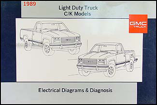 1989 gmc ck sierra pickup truck wiring diagram 89 1500. Black Bedroom Furniture Sets. Home Design Ideas