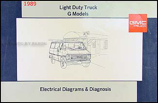 1989 gmc g van wiring diagram manual 89 vandura electrical ... 1989 jeep wiring harness 1989 gmc wiring harness