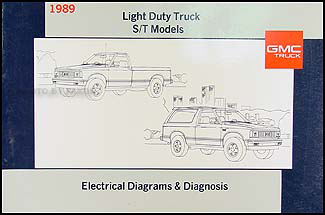 1989 gmc s15 pickup and jimmy wiring diagram manual electrical schematic 89 s 15 ebay. Black Bedroom Furniture Sets. Home Design Ideas