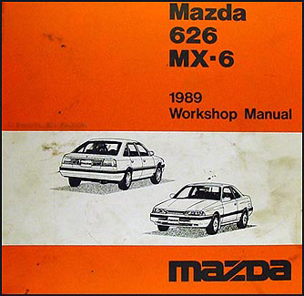 1989 mazda 626 mx 6 repair shop manual original rh faxonautoliterature com mazda 626 mx6. workshop manual mazda mx6 repair manual free download