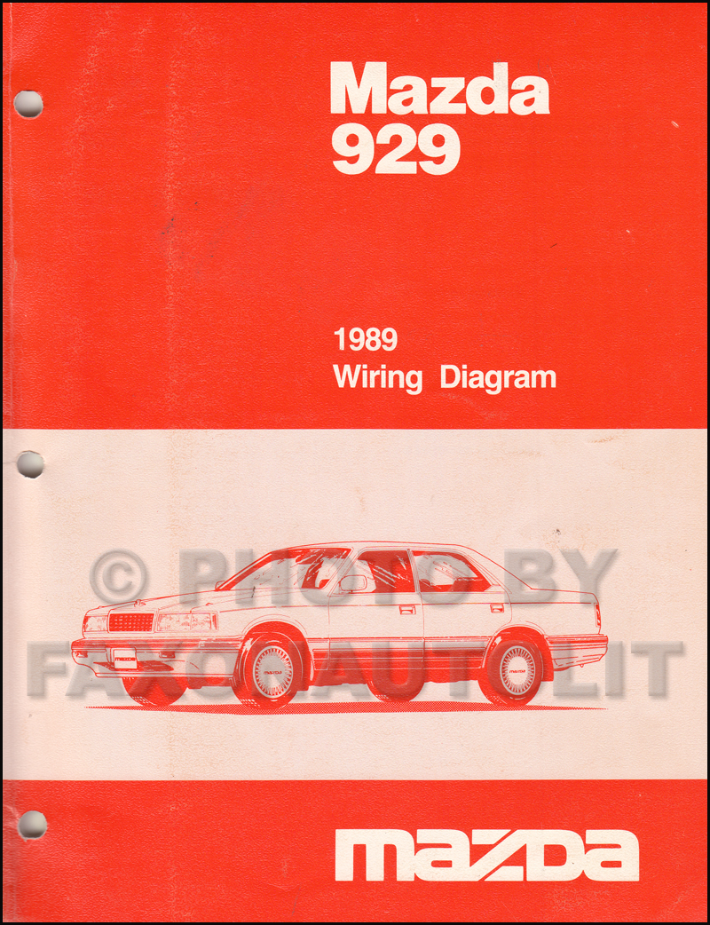 Mazda 626 Gd Wiring Diagram Real 2002 1989 929 Manual Original Rh Faxonautoliterature Com 1998 1992