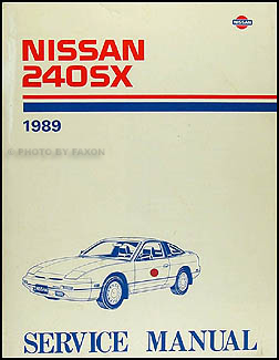 1989Nissan240SXORM 1989 nissan 240sx wiring diagram manual original 89 nissan 240sx wiring diagram at bayanpartner.co