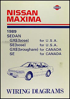 1989NissanMaximaWD 1989 nissan maxima wiring diagram manual original 1998 nissan maxima wiring diagram electrical system at crackthecode.co