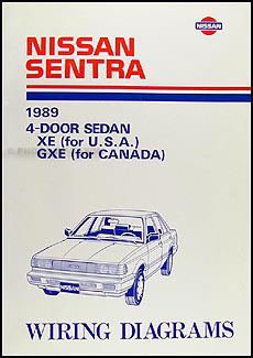 1989NissanSentraWD 1989 nissan sentra wiring diagram manual original nissan sentra electrical diagram at bayanpartner.co