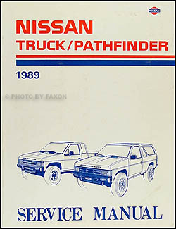 1989 nissan truck and pathfinder wiring diagram manual original 1989 nissan pickup truck and pathfinder repair shop manual original