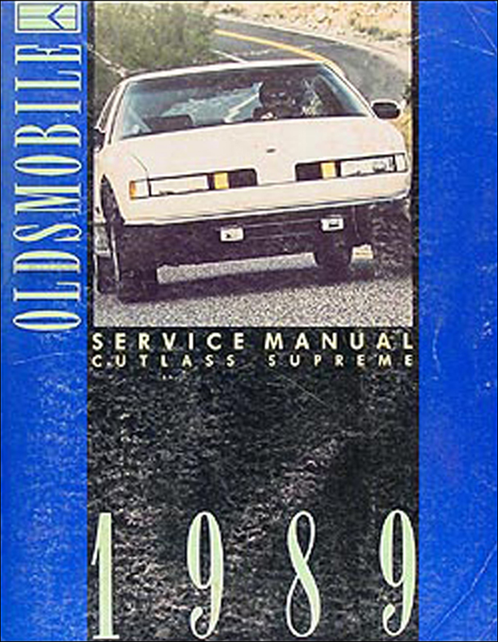 1989 Oldsmobile Cutlass Supreme Repair Manual Original