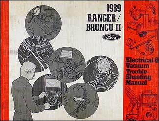 1989 ford ranger and bronco ii foldout wiring diagram 89. Black Bedroom Furniture Sets. Home Design Ideas