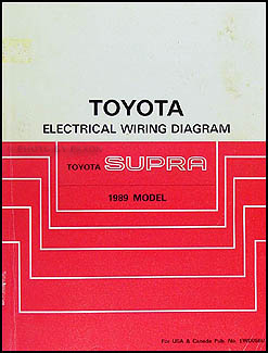 1989 toyota supra wiring diagram manual original1989 Toyota Supra Wiring Diagram #2