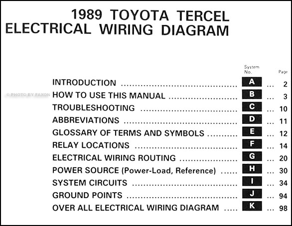 DIAGRAM] 1996 Toyota Tercel Electrical Wiring Diagram FULL Version HD  Quality Wiring Diagram - UNILINKSUSPENSION.MAI-LIE.FRunilinksuspension.mai-lie.fr