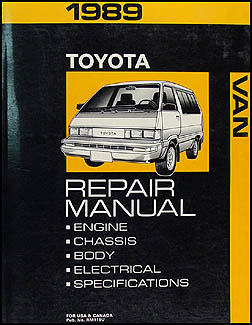 1989 Toyota Van Wiring Diagram - Electrical Drawing Wiring Diagram •