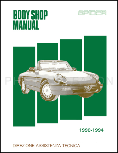 Search - Alfa romeo spider workshop manual