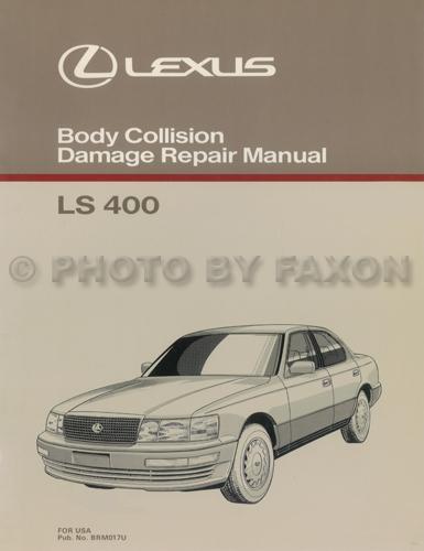 1990 1994 lexus ls 400 body collision repair shop manual rh faxonautoliterature com 1990 Lexus LS400 Engine 1990 lexus ls400 owners manual