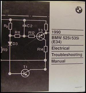 1991 bmw 525i wiring diagram 1990 bmw 525i 535i electrical troubleshooting manual #6