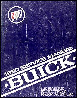 1990 buick lesabre electra park avenue repair shop manual original rh faxonautoliterature com 2000 Buick LeSabre 1990 buick lesabre repair manual