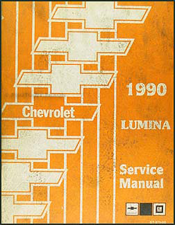 1990 chevy lumina car repair shop manual original