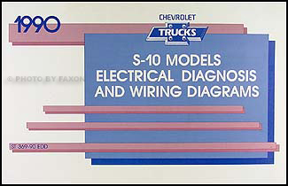 1990ChevSTWD 1990 chevy s 10 pickup & blazer wiring diagram manual original 1990 chevy k5 blazer wiring diagram at panicattacktreatment.co