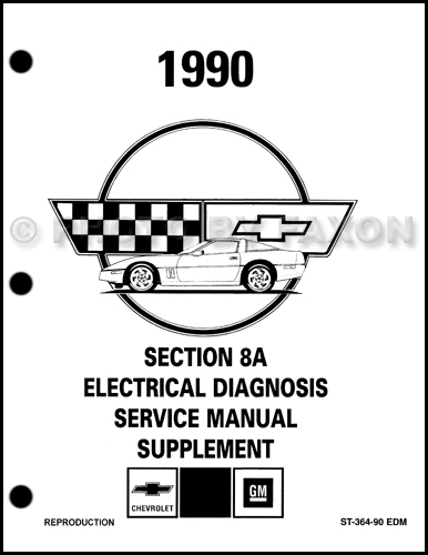 1990ChevroletCorvetteEDMS 1990 1993 corvette zr 1 lt5 engine service & overhaul repair shop 1990 corvette wiring diagram at gsmx.co