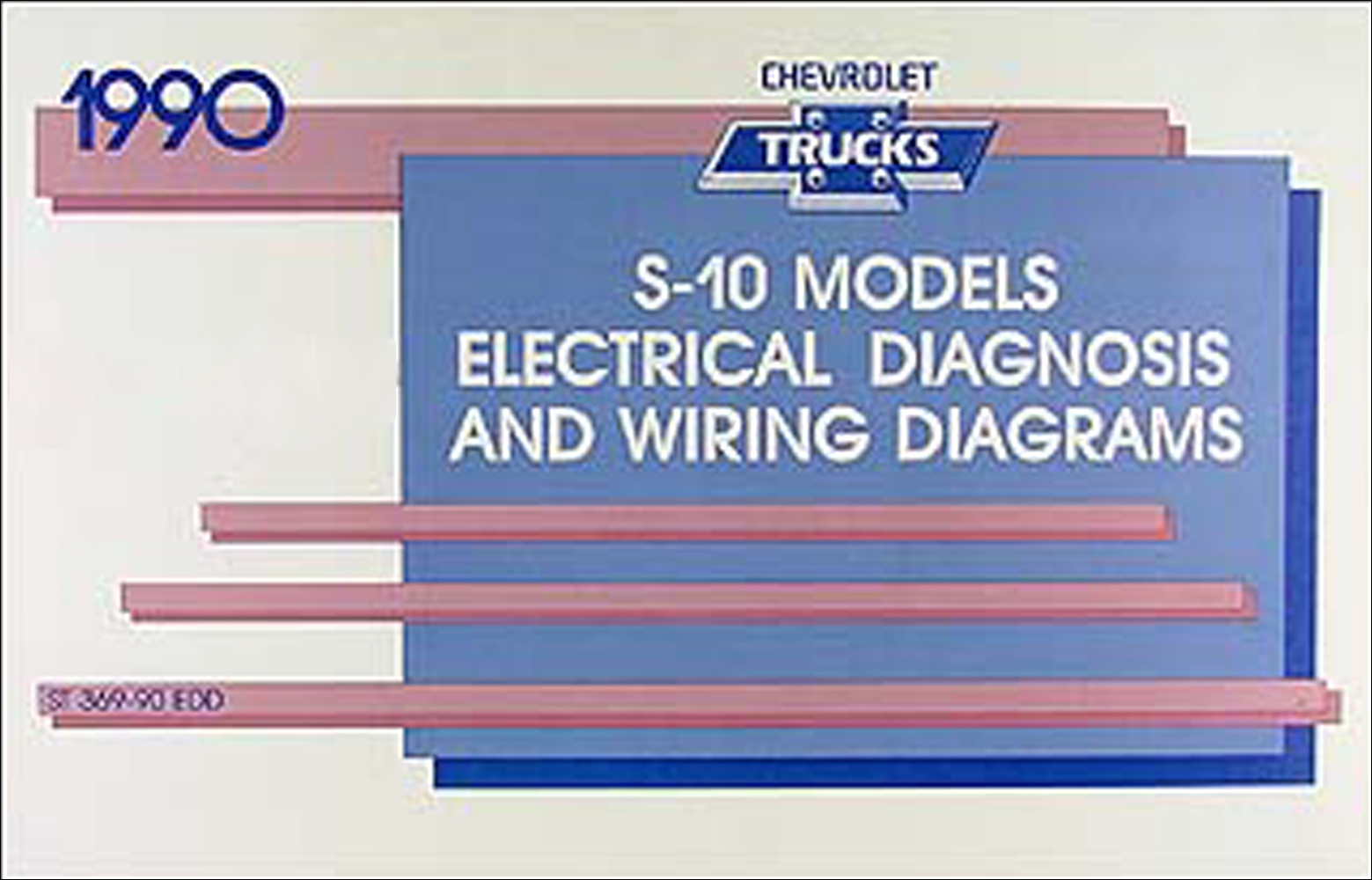 1990 Chevy Blazer Wiring Diagram Circuit Schematic 1994 S 10 Pickup Manual Original