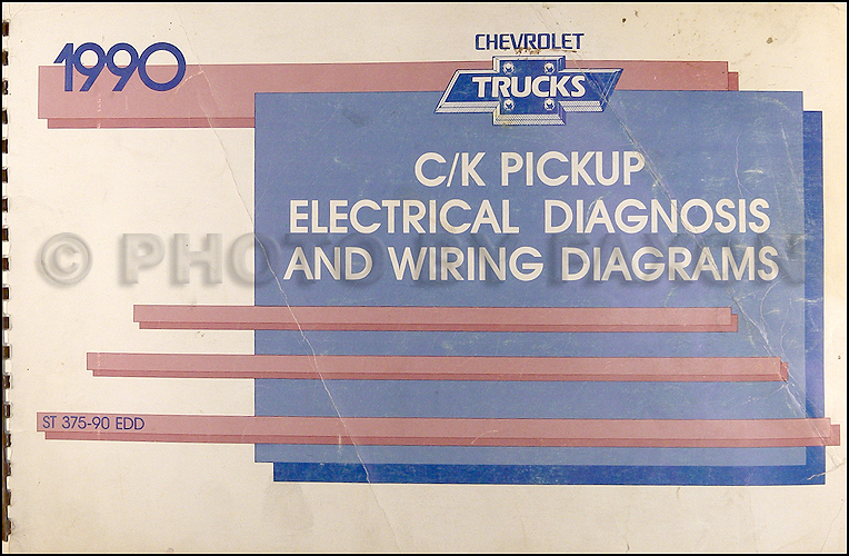 1990ChevyCKOWD 1990 chevy c k pickup wiring diagram manual original 1990 suburban instrument cluster wiring diagram at crackthecode.co